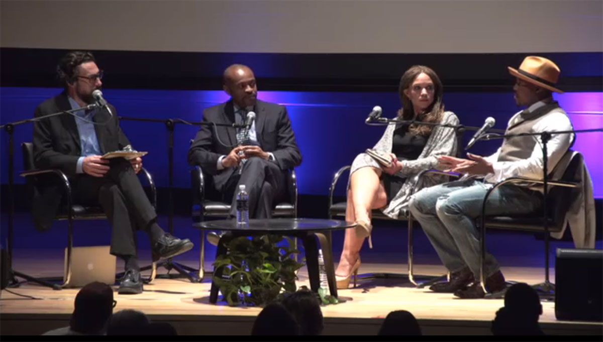 Still from Black Lives Matter symposium
